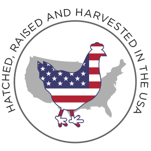 Hatched, Raised and Harvested in the USA