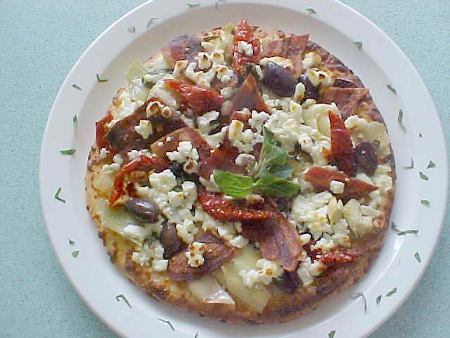 Aegean Turkey Bacon Pizzette