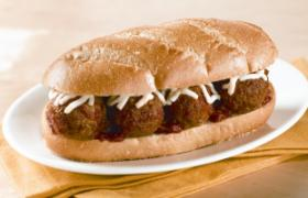 Hot Meatball Sub Sandwich