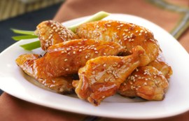 Sesame Ginger Wings