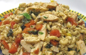 Tuscan Chicken Pasta Salad