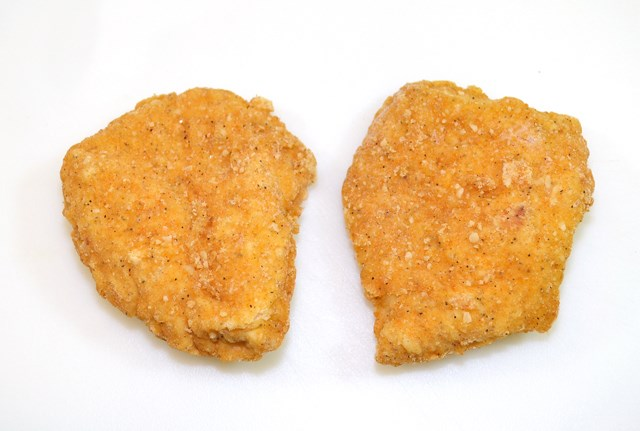 66123 Clux Delux Fully Cooked Breaded Chicken Breast Filet 4 Oz