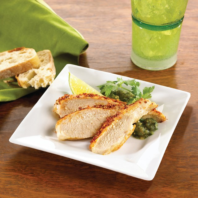 PERDUE® CHEF REDI® Ready to Cook Chicken Breast Filets with Rib Meat, Marinated, 4 oz., Frozen<br/>(7081)