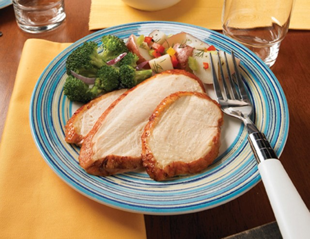 PERDUE® NO ANTIBIOTICS EVER Ready to Cook Boneless, Skin-on Turkey Breast, Cook in Bag, 25% marination<br/>(35090)