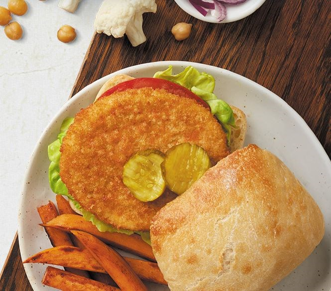 Perdue® Chicken Plus™, No Antibiotics Ever, Fully Cooked, Breaded Chicken Breast Patties, Frozen<br/>(81702)